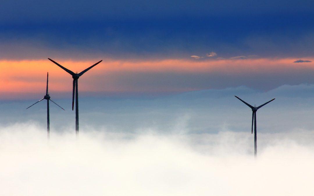 La Caisse d'Epargne Bretagne Pays de Loire  finance un parc de 9 éoliennes à Boussay (44)