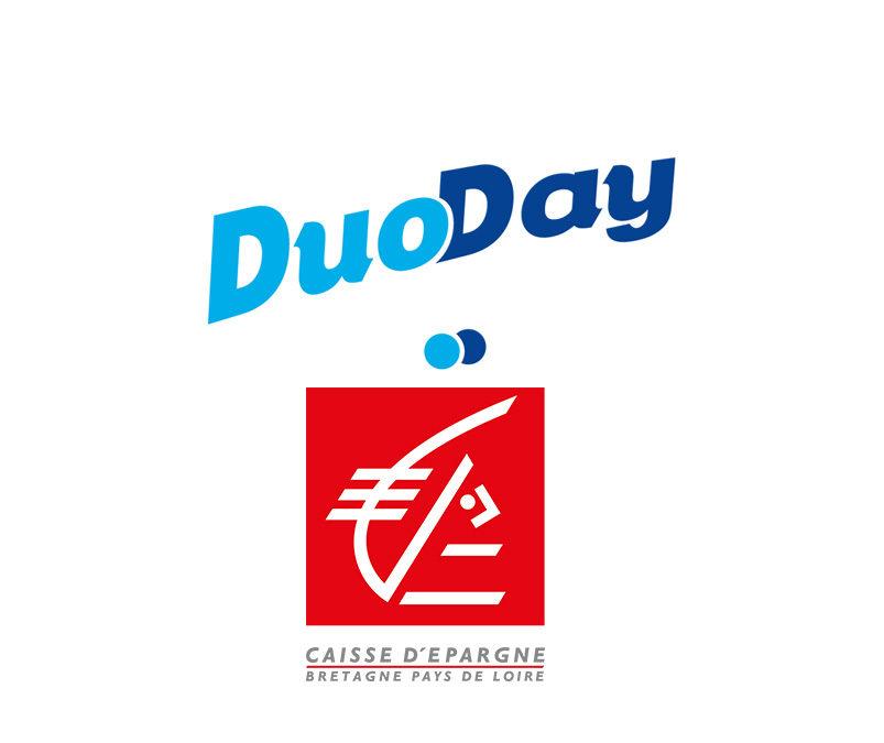 La Caisse d'Epargne Bretagne Pays de Loire s'engage pour le DuoDay