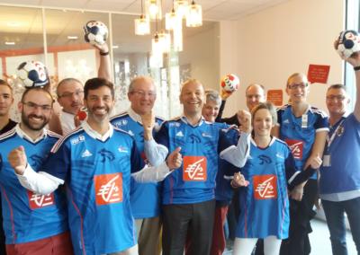 1er supporter du handball !