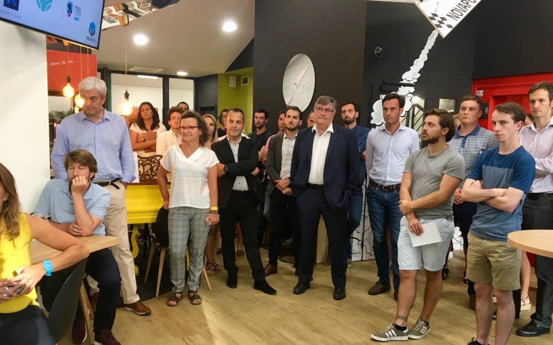 Découvrez les 7 #startups qui ont rejoint notre incubateur Novapuls !