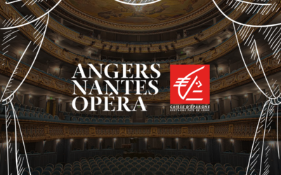 Un mécène pour Angers Nantes Opéra : la Caisse d'Epargne Bretagne Pays de Loire.