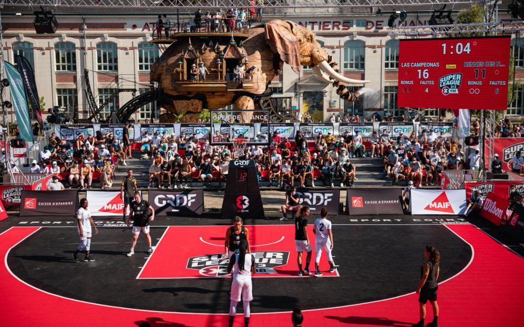 Le Basket 3×3 à Nantes !