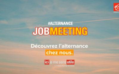 Participez le 20/01 au JobMeeting pour découvrir l'alternance chez nous !