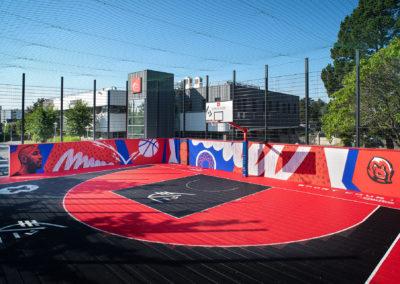 Le terrain de basket 3x3 à Orvault