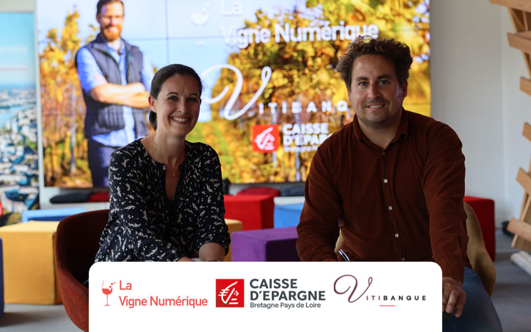 La Vigne Numérique s'associe avec Vitibanque !
